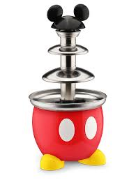 mickey mouse kitchen appliances disney dcm 50 mickey mouse chocolate fountain red amazon ca