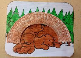 hibernating bear craft bear crafts bears and craft