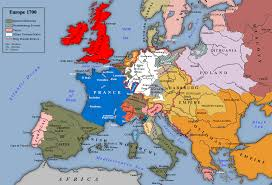 Map Of Northern France by Map Of Europe C 1700 206 Baroque In Northern Europe Pinterest