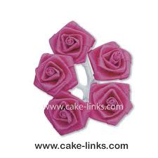 fuschia ribbon roses fuschia cake links ltd