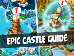 angry birds epic complete castle guide retrieve eggs