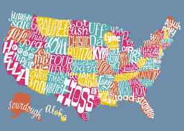 Interactive Map Of Usa by United Slang Of America Map If Every State Had An Official Word