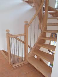 buche treppe tischlerei neumann treppe aus buche mit edelstahl kombiniert