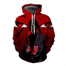 naruto anime sasuke 3d hoodie price 46 85 u0026 free shipping