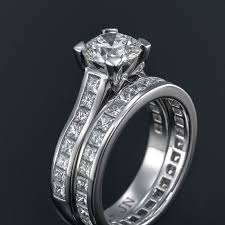 custom wedding band to fit engagement ring 27 best custom jewellery designs images on jewellery