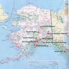 alaska on map acoa alaska cgrounds owners association alaska map