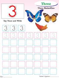 numbers writing practice worksheet 3 download free numbers
