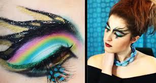 peacock makeup tutorial trucco carnevale kikimakeup90 youtube