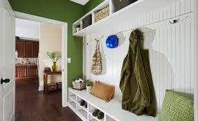 entryway hall tree entry traditional with beadboard paneling bench