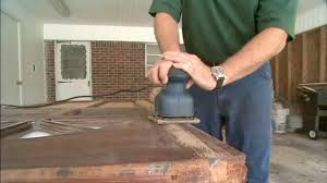 Refinish Exterior Door How To Refinish An Exterior Wood Entry Door Today S Homeowner