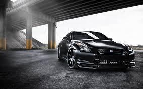 nissan sports car black black nissan gtr under bridge wallpaper 3225 coolwallpapers site