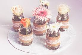 Mason Jar Floral Centerpieces Kara U0027s Party Ideas Mason Jar Flower Centerpieces From A Dream