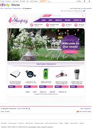 shopsy ebay store sales boosting with their new ebay store design