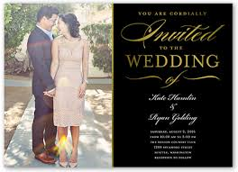 wedding invitations with photos extravagant affair 5x7 wedding invitations shutterfly