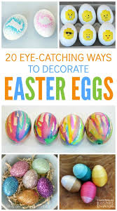 20 eye catching ways to decorate easter eggs b inspired mama