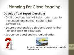module 2 planning an integrated common core literature lesson