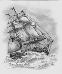 ghost pirate ship tattoo sketch in 2017 real photo pictures