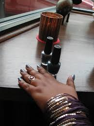 my monday manicure afrobella loves the nail social afrobella