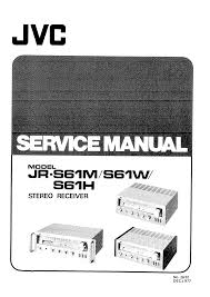 jvc jrs61m h w service manual immediate download
