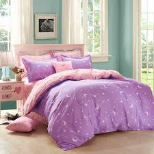 Purple Ruffle Comforter Bedroom Awesome Twin Bedspread Sets Fantastic Purple Color