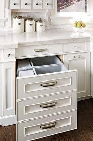Kitchen Cabinet Waste Bins by Hidden Waste Bins Transitional Kitchen House U0026 Home