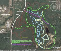 carolina forest map map