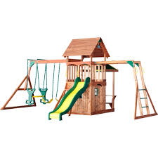 Backyard Discovery Montpelier Cedar Swing Set Backyard Discovery Saratoga All Cedar Swingset Free Shipping