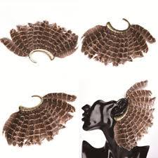 how to make feather ear cuffs feather cuff fashion earrings ebay