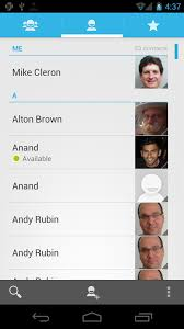 contacts android app listview fast scroll behavior on earlier android versions