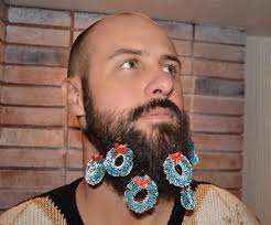 beard ornaments christmas ornaments on beard the beard craze christmas