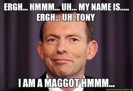 Uh Meme - ergh hmmm uh my name is ergh uh tony i am a