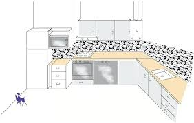 je dessine ma cuisine comment dessiner une cuisine implantation cuisine type idacal tout
