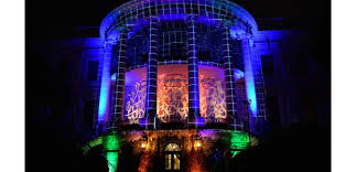 us white house haunted by projection mapping