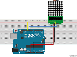 Arduino Map Driving An 8x8 64 Led Matrix With Max7219 Or Max7221 And