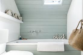 Bathroom Wall Panel Diy Bathroom Wall Panels With Beach Theme Ideas Also Blue Painted