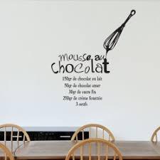stickers recette cuisine sticker recette mousse au chocolat pas cher stickers design
