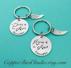 pregnancy loss jewelry of an angel keychain of an angel keychain