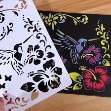 korean ruler art drawing stencils diy tool decorative