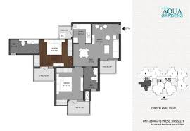 Garden Apartment Floor Plans Shri Radha Aqua Garden In Noida Ext Sector 16b Noida Project