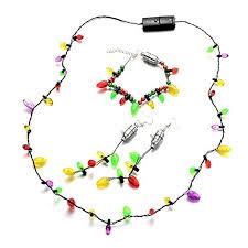 oaonnea light up bulb necklace