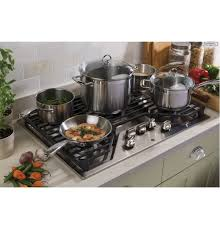 Ge Built In Gas Cooktop Jgp5030slss In Stainless Steel By Ge Appliances In Spicer Mn Ge