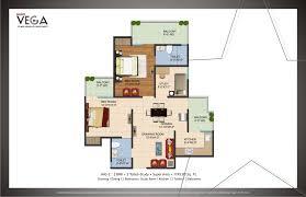 2 Bhk Floor Plans Galaxy Vega Floor Plans Galaxy Vega Floor Layout