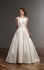 wedding dress with pockets a line wedding dress with pockets martina liana bridal gowns