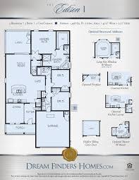 Floor Plans Texas Edison Dream Finders Homes