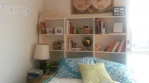 uncategorized beautiful how to make a bookshelf headboard