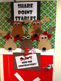 Office Decoration For Christmas Pictures by Christmas Door Decorating Contest Ideas For The Office Elf