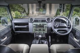land rover 2007 interior land rover defender by car magazine