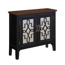small accent cabinet with doors 2 door two tone mirrored front cabinet accent cabinets home