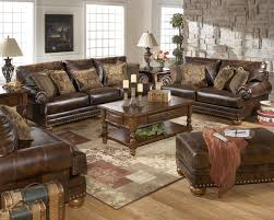 Signature By Ashley Sofa by Traditional Leather Sofa By Ashley