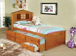 Captain Beds Twin by Cm7762a Twin Lakes Captain Bed In Oak W Trundle U0026 Drawers